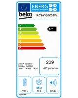 Beko RCSA330K31W Szépséghibás A++ Kombinált Hűtő Akció