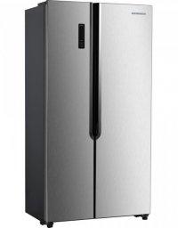Heinner HSBS-H430NFX Új Szépséghibás A+ , NoFrost , Side By Side Hűtőszekrény
