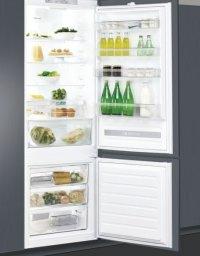 Whirlpool SP40 802 EU Beépíthető alul fagyasztós hűtőszekrény