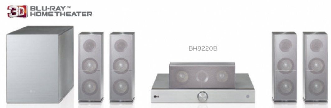 LG BH8220B Házi Mozi Rendszer